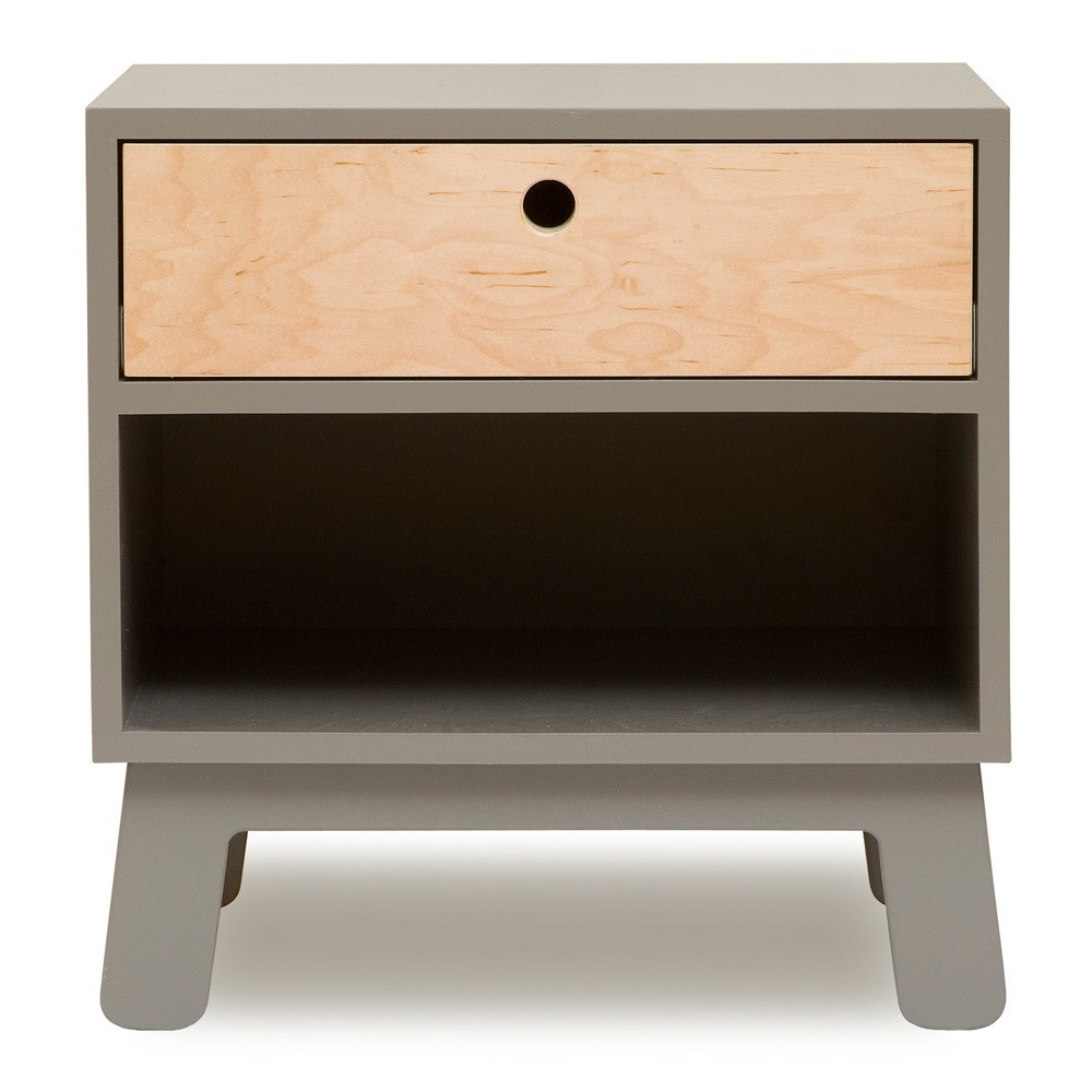 Oeuf NYC Nightstand Sparrow - grey-product