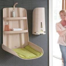 By BO design Table à langer murale - Blanc-listing