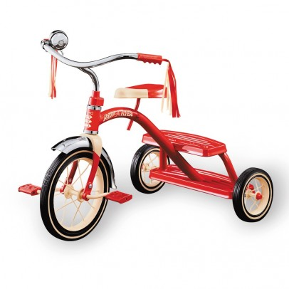 Radio Flyer Classic Red Dual Deck Tricycle-listing