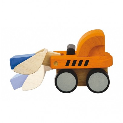 Plan Toys Mini Bulldozer -listing