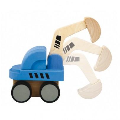 Plan Toys Mini digger-listing