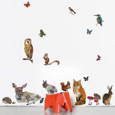 Domestic Adesivi da muro Animali - 27 pezzi-listing