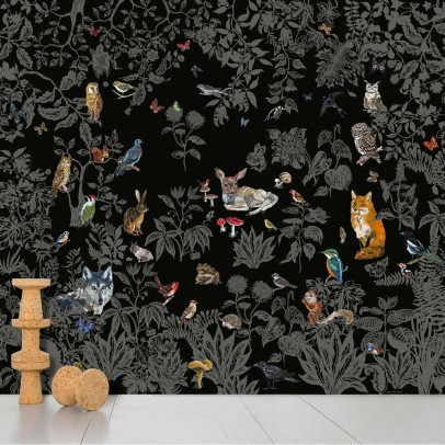 Domestic Wild wall paper - black-listing