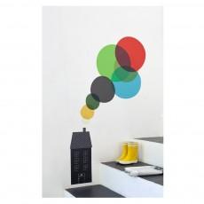 Poisson Bulle House Sticker - Blance Gomez-product