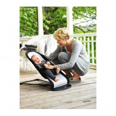 BabyBjörn Bouncer Balance - black and silver-listing