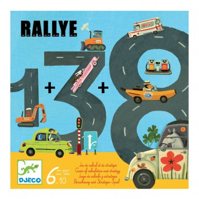 Djeco Rallye learn to count-product
