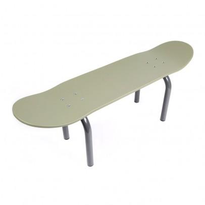 Leçons de choses Banco Skateboard - Kaki Verde Kaki-listing
