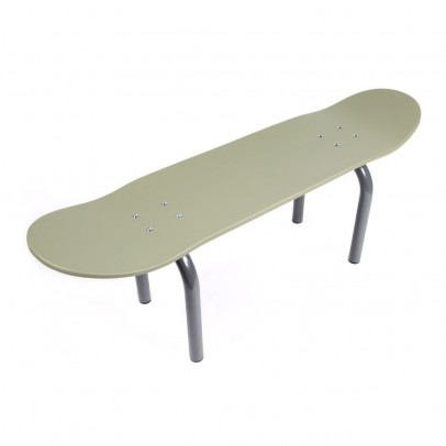 Leçons de choses Skateboard Bench - Kaki Khaki-listing