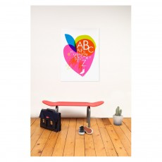 Leçons de choses Banc Skateboard - Rouge-listing