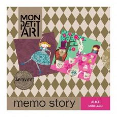 Mon Petit Art Juego de memoria - Alicia en el País de las Maravillas-listing