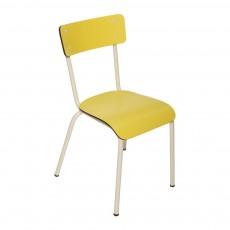 Les Gambettes Chaise adulte Suzie - Jaune-listing