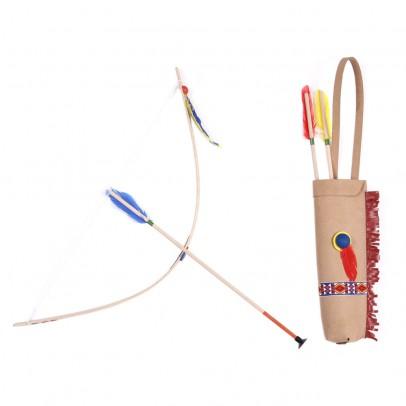Helga Kreft Arco, frecce e faretra in pelle multicolore-listing