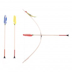 Helga Kreft Leather Bow, Arrow and Quivver Set Multicoloured-listing