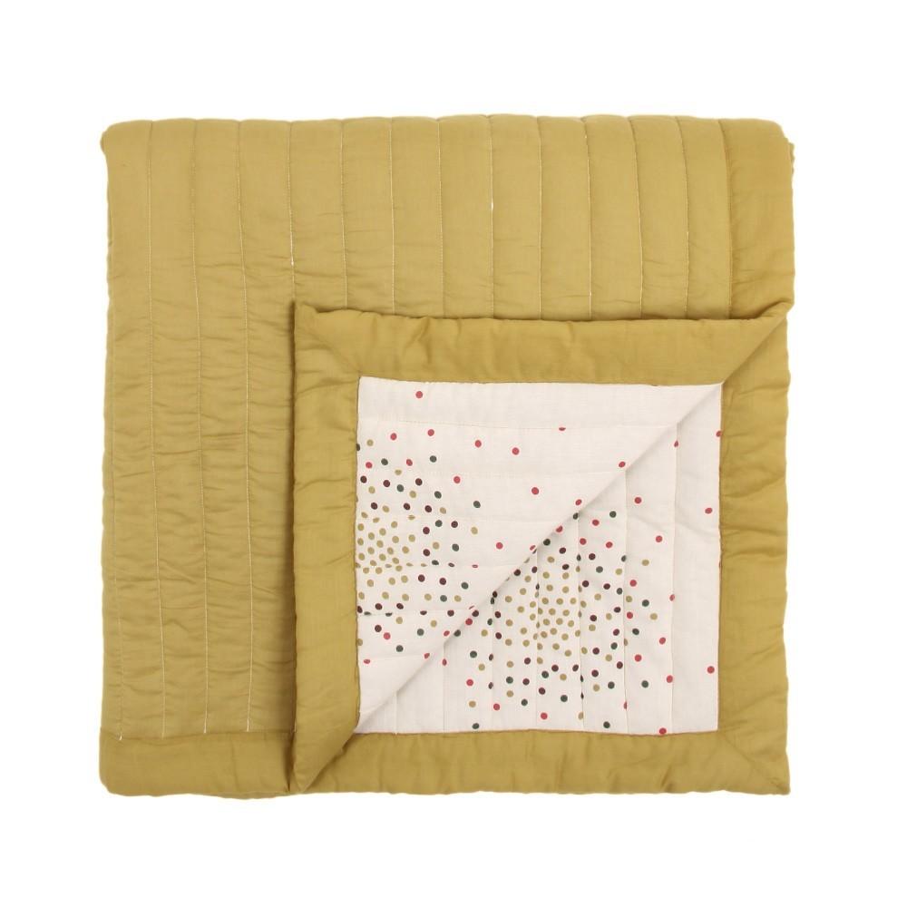 April Showers Grand Plaid Ecru - Pois multicolore-product