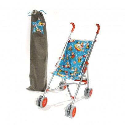 Minikane Cosmo Toy Pushchair - Red-listing
