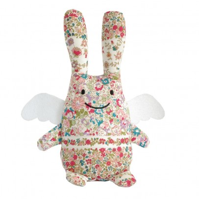 Trousselier Doudou Ange Lapin Liberty-listing