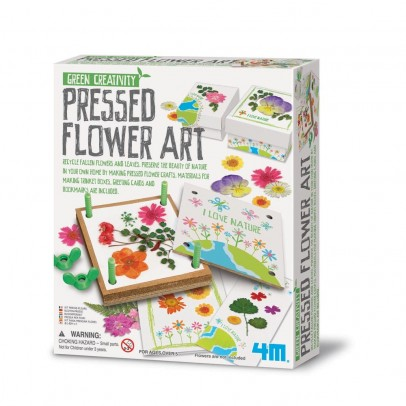 4M Pressed flower art-listing