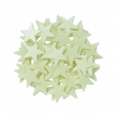 4M Mini-Pack pegatinas Fosforescentes-mini estrellas-listing