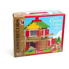 Jeujura Juego de construcción Mi casa de madera-135 piezas-listing