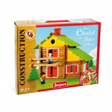 Jeujura Construction game , My wooden chalet , 175 pieces-listing
