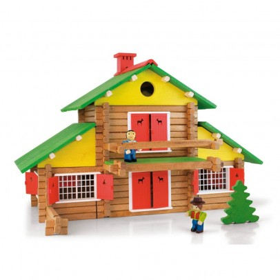 Jeujura Construction game , My wooden chalet , 240 pieces-listing