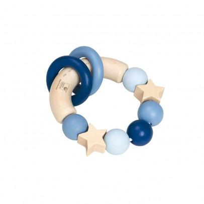 Selecta Hochet en bois - Bleu-listing