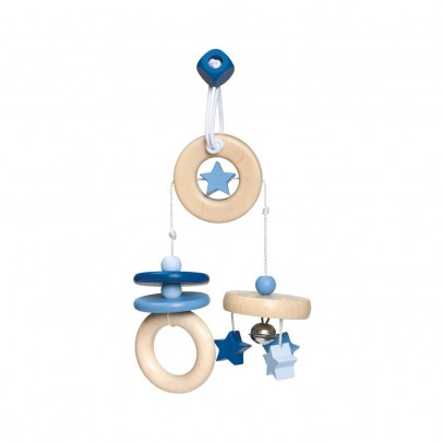 Selecta Móvil de viaje en madera - Azul-listing