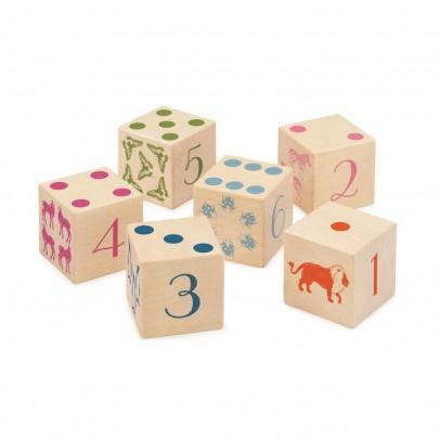 Selecta Cubos números / animales-listing