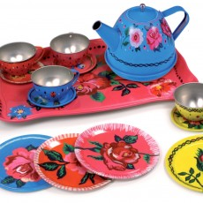 Vilac Flower tea set in case by Nathalie Lété-listing