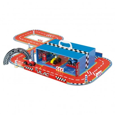 Vilac Race track in suitcase-product