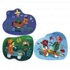 Vilac Puzzles Los Juguetes Retro Nathalie Lété-product