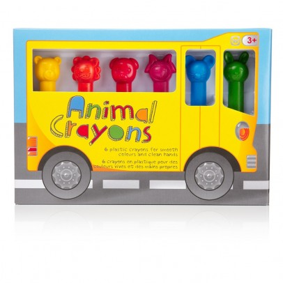 Worldwide Co Set de crayons - Animaux-listing