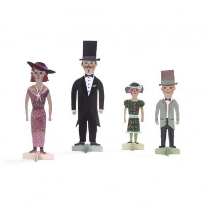 Londji Figuren Famillie-listing