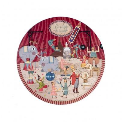 Londji Puzzle rund Zirkus-listing
