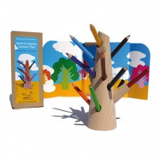 Mon Petit Art Crayon tree-listing
