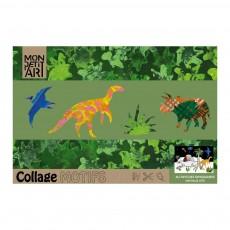 product-Mon Petit Art Cuaderno de colorear En el país de los dinosaurios