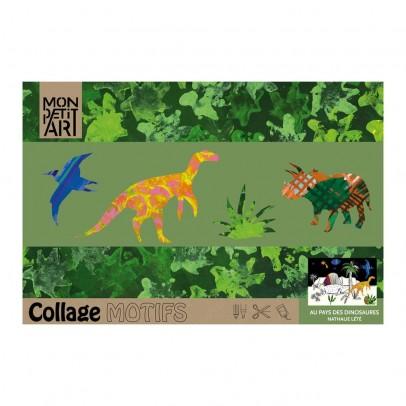 Mon Petit Art Cahier de coloriage Au pays des dinosaures-listing