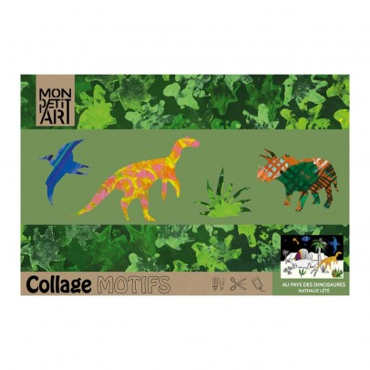 Mon Petit Art Colouring book - In the land ofthe dinosaurs-listing