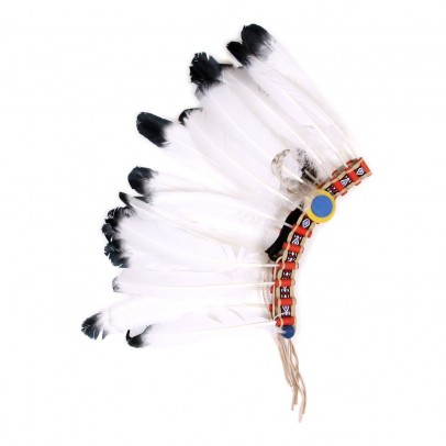 Helga Kreft Native Indian headdress-listing