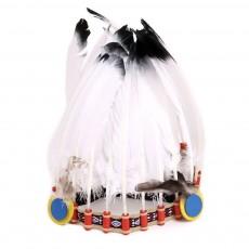 Helga Kreft Gorro de plumas de indio-listing