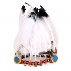 Helga Kreft Native Indian headdress-listing