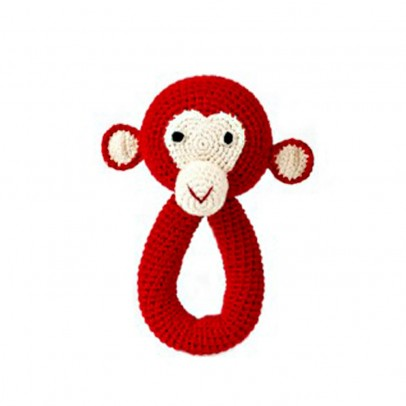 Anne-Claire Petit Red Monkey Rattle-listing