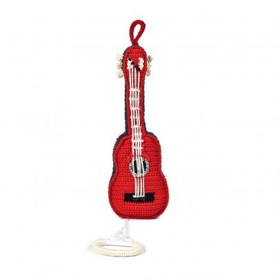 Anne-Claire Petit Boîte à musique Guitare Rouge-listing