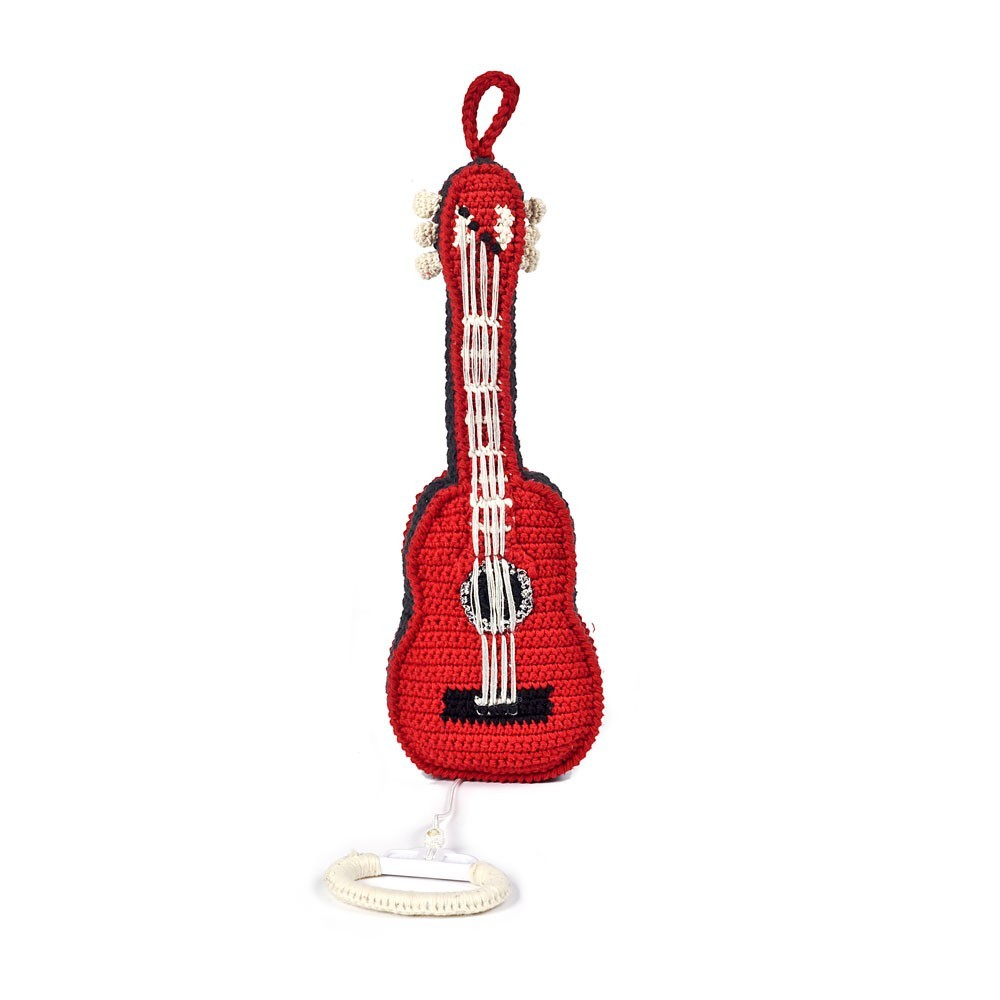 Anne-Claire Petit Red Guitar Music Box-product