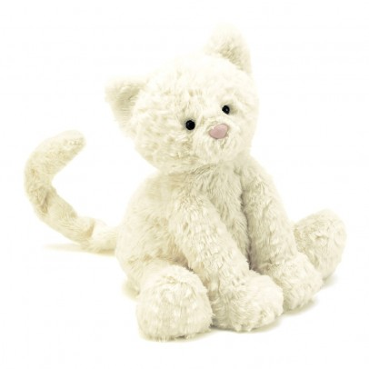 Jellycat Kleine Katze Fuddlewuddle - Weiss-listing