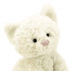 Jellycat Piccolo gattino  Fuddlewuddle - Bianco-listing