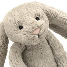 Jellycat Lapin Bashful aux grandes oreilles - Beige-listing