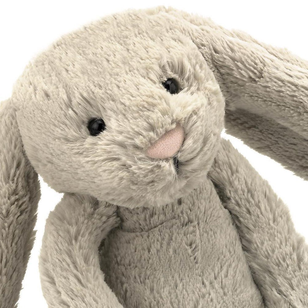 Jellycat Bashful Beige Bunny with large ears-product