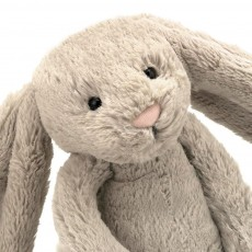 Jellycat Conejo Bashful de grandes orejas - Beige (31cm)-listing