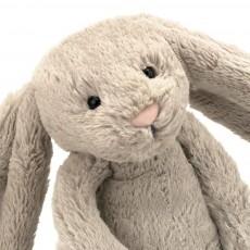 Jellycat Lapin Bashful aux grandes oreilles - Beige (31 cm)-listing